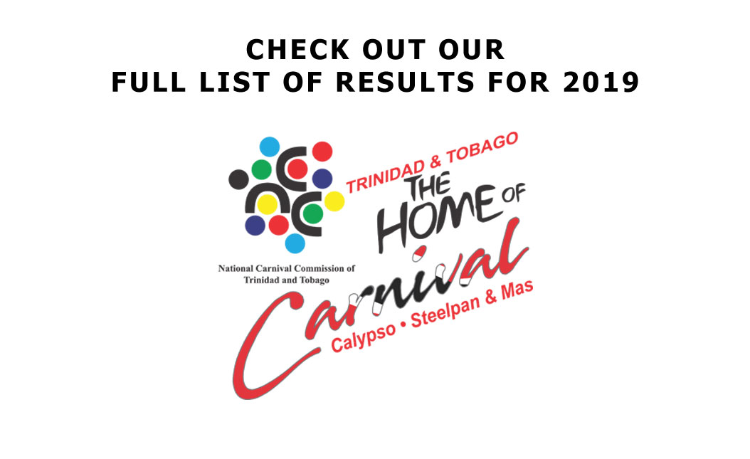 Full List of Results 2019