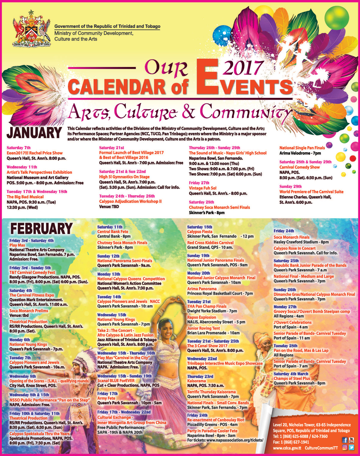 Monthly Calendar Of Events : Diversity monthly celebrations just b use
