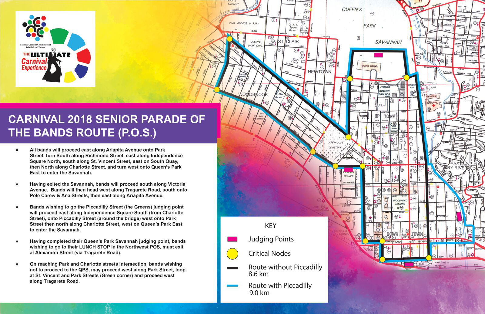 Francois Illas New Tradition: Parade Of The Bands Routes 2018